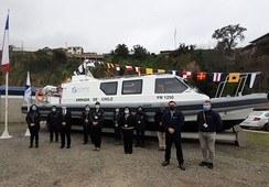 Sernapesca recibe primera embarcación con dedicación exclusiva a fiscalización acuícola