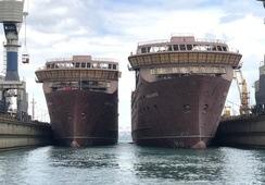 De to første Havila-kystrutene er sjøsatt
