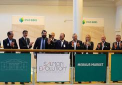 Stock Exchange debut for Salmon Evolution