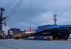 Envían por primera vez salmón fresco vía marítima desde Noruega a Londres