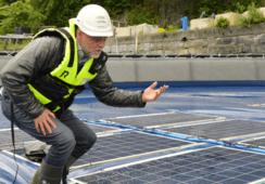 Søker børsnotering av solceller på vann