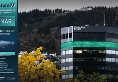 Webinar fra GreenFloor i Media City Bergen: