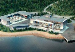 Estados Unidos: Planean instalar centro de salmón flotante de contención cerrada