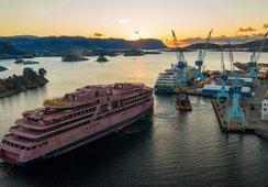 Ulstein starter omfattende utrustning av nytt cruiseskip