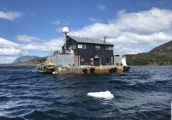 SMA exige medidas a Australis tras hundimiento de pontón en Magallanes