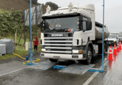 Transportistas exigen fila única en Aduana Sanitaria de ingreso a Chiloé