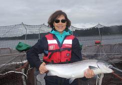Trabajando por el desarrollo de proveedores acuícolas en la región de Aysén
