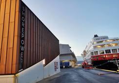 Bergen Havn med el-rekord