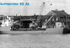 MS «Frigga Buur» - Nybygg fra Blaalid Slip til Danmark