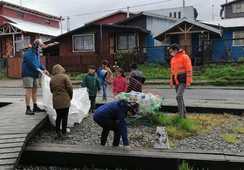 El trabajo de Blumar con la Municipalidad de las Guaitecas en gestión ambiental