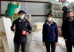 Trabajo colaborativo impulsa primera planta para valorización de plumavit en Aysén