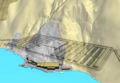 Firman contrato de ovas para centro de salmón de 100 mil toneladas en mina en desuso