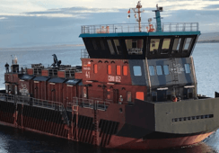 AKVA delivers its first Chilean order for feed barges