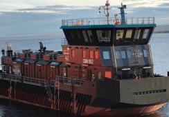 Grupo Akva realiza primera entrega de modernos pontones en Chile