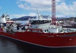 Aas Mek. overleverte nybygg til Brønnbåt Nord