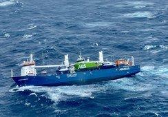 Nederlandsk skip i havsnød