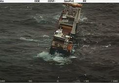 AQS-båt har falt av havarist