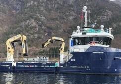 «Lovart Viking» blir oppgradert til kombinert bløgge- og servicebåt