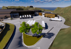 Bremnes Seashore bygger ny SALMA-fabrikk