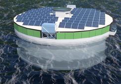 Dos empresarios acuícolas presentan proyecto de jaula de hormigón para peces