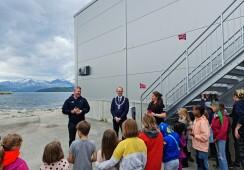 Offisiell åpning av nye lokaler hos Salmon Center Gildeskål