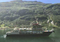 Ukens skipsbesøk MS «Geirangerfjord I»