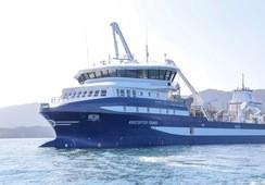 Bli med om bord i den innovative brønnbåten «Kristoffer Tronds»