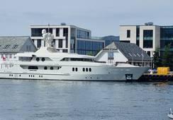 Internasjonal TV-serie spilles inn på yacht i Ålesund
