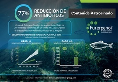 Reducción del uso de antibióticos con producto no farmacológico Futerpenol®