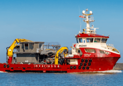 Inverlussa flagship is readied for delousing debut