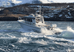 Mowi crew rescued from sea after workboat starts sinking