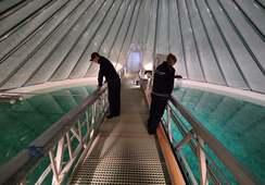 Har startet torskeproduksjon på Tjeldbergodden - igjen svømmer det torsk i karene