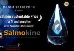 Empresa chilena Salmokine recibe importante distinción internacional