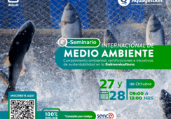 Seminario Internacional de Medio Ambiente abordará sustentabilidad salmonicultora