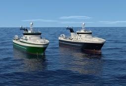 To nye Rolls-Royce hekketrålere til Grønland