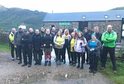 Marine Harvest staff hit new heights for hospice