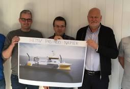 Napier inngår enda en nybyggingskontrakt med FMV