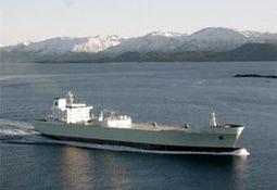 Florø-bygget skip i kollisjon