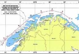 Påbudt seilingsled reduserer risikokostnader