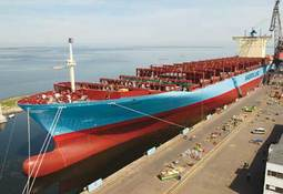 Namegiving of newbuilding L 212 from Odense Steel Shipyard