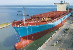 Namegiving of newbuilding L 213 from Odense Steel Shipyard