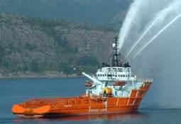 Motorbrannen på «Ocean Knarr» er slukket
