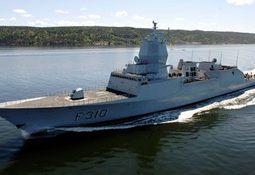 Norsk fregatt på piratjakt