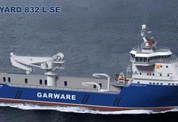 Havyard Leirvik AS har skrevet kontrakt på levering av et nybygg til Garware Offshore Services Ltd.
