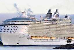 Delivery of Oasis of the Seas