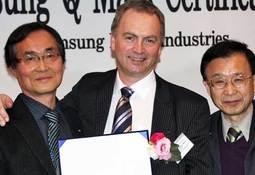 TMC tildelt Samsung-Q Mark Gold