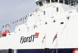 Fjord1 skal kutte CO2-utslippet på Skyss-fergene med 87 prosent