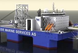 Eide Marine Services AS vant to kontrakter på nyutviklet fartøy