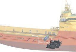 Bygger verdens mest miljøvennlige supply-skip