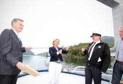 Kystdirektøren opna flaskehals i Måløy